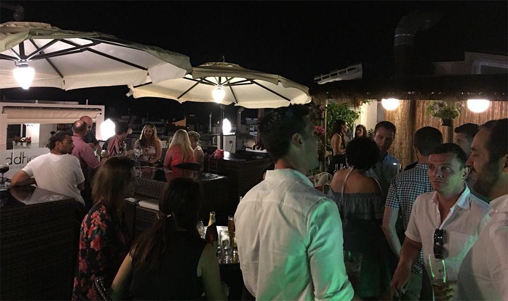 Terraza Buddha Lounge Bar Cocktails